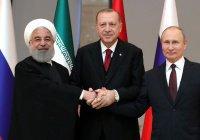 Путин едет в Иран на встречу с Эрдоганом и Роухани