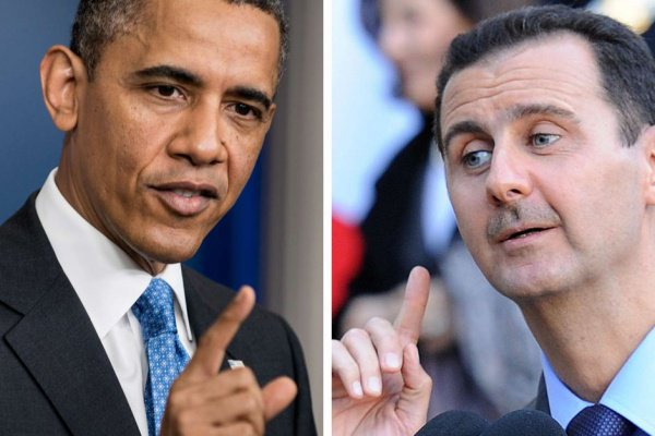 Асад направил Обаме секретное письмо.