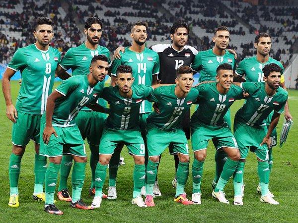 Иракская сборная на отборочном этапе ЧМ-2018.
