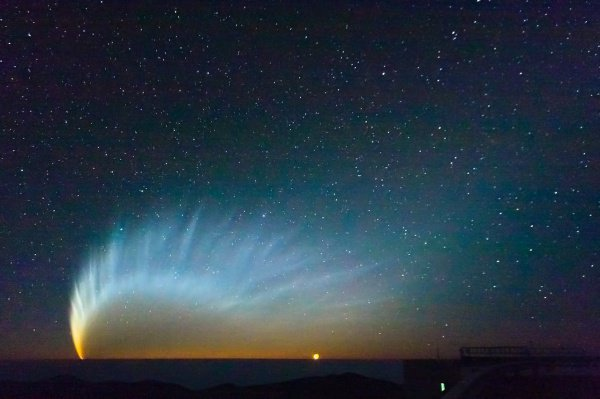 Период обращения кометы, по словам астрономов, составляет 6,6 лет