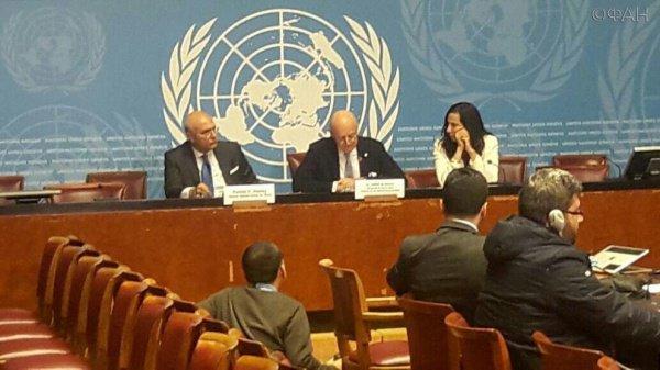 Переговоры стартуют в Женеве.