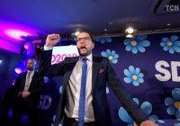 СМИ: расистская партия прошла в парламент Швеции
