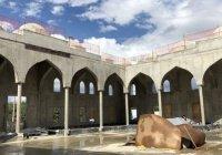 В Симферополе начали внутреннюю отделку Соборной мечети