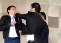 Представители Таджикистана подрались во время совещания ОБСЕ (Видео)