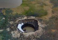 Раскрыт секрет возникновения кратера в Сибири