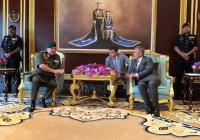 Рустам Минниханов встретился с малазийским султаном