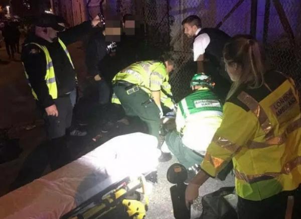 В результате ЧП пострадали два человека.
