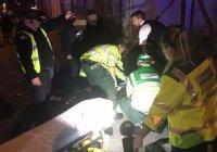 В Лондоне автомобиль въехал в пешеходов возле мечети