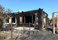 9-летний мальчик спас из пожара 2 малышей и мать