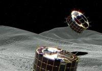 Японцы высадили на астероид 2 зонда