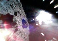 Получены первые в истории фотографии с астероида
