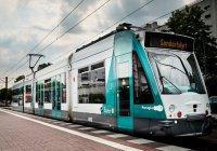 Первый в мире беспилотный трамвай испытали в Германии