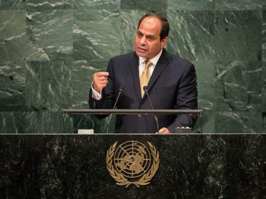 Ас-Сиси выступил на Генеральной Ассамблее ООН.