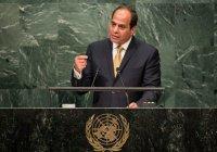 Президент Египта назвал недостатки ООН