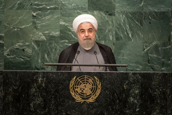 Хасан Роухани выступил на Генассамблее ООН.