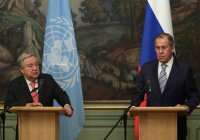Лавров и генсек ООН договорились о совместном урегулировании в Сирии