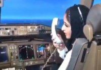 Принцесса Дубая села за штурвал пассажирского лайнера