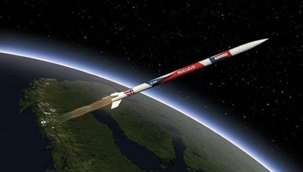 Она была запущена с территории космического центра «Андойя». Запуск прошел успешно