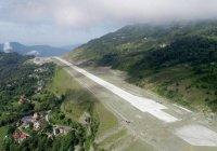 Новый аэропорт с невероятным видом открылся в Индии