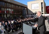 Эрдоган открыл в Кельне крупнейшую в Германии мечеть (Фото)