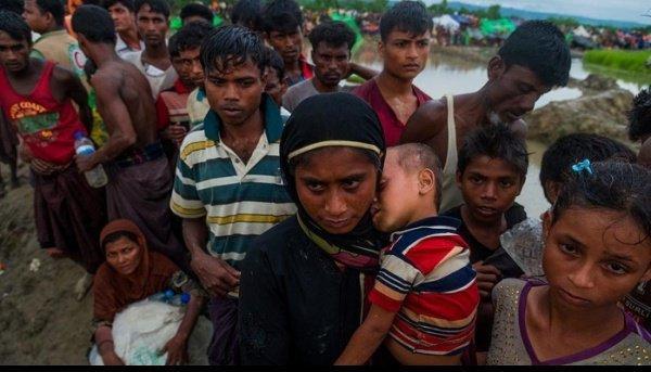 Сотни тысяч рохинджа продолжают находиться в Бангладеш.