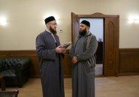 Камиль хазрат Самигуллин встретился с муфтием Абу-Даби