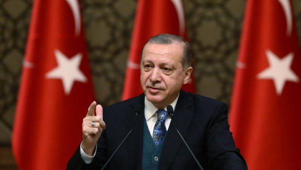 Эрдоган заявил, что Турция не будет выводить свои войска из Сирии