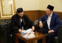 Камиль Самигуллин обсудил сотрудничество с муфтием ХМАО