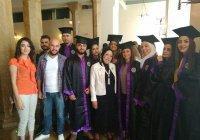 Первые выпускники кафедры русского языка в университете Дамаска получили дипломы