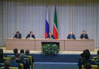 Минниханов проверит защищенность татарстанских школ от терактов
