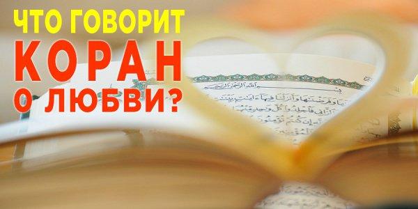 Любовь в аятах Священного Корана