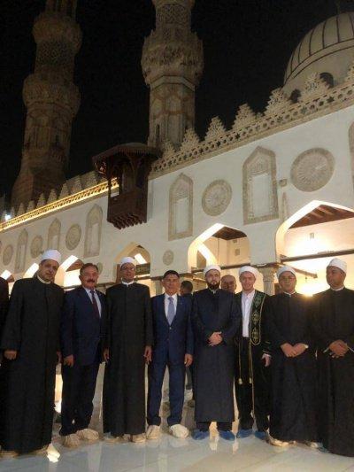 Татарстанская делегация в Египте.