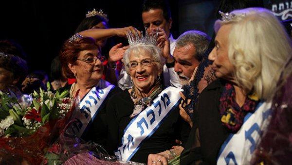 Финалистки конкурса красоты среди женщин, переживших Холокост.
