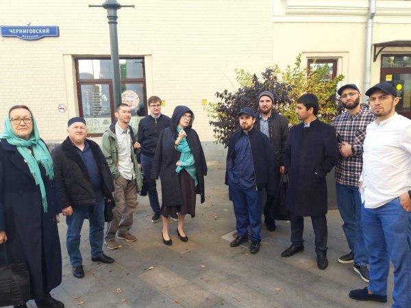 Студенты БИА в Москве.
