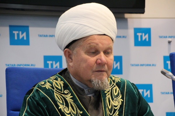 главный казый Татарстана Джалиль хазрат Фазлыев