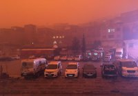 Турцию накрыло облако песчаной пыли с Аравийского полуострова