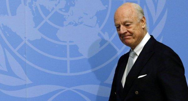 Посланник ООН по Сирии Стаффан де Мистура Фото: sputniknews.com