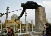 Ирак требует от Иордании вернуть снесенную в 2003 году статую Саддама Хусейна
