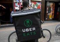 Uber будет доставлять еду при помощи дронов