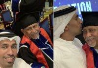 Житель ОАЭ получил диплом университета в 75 лет