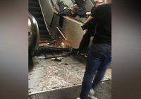 В метро Рима эскалатор сошел с ума (ВИДЕО)
