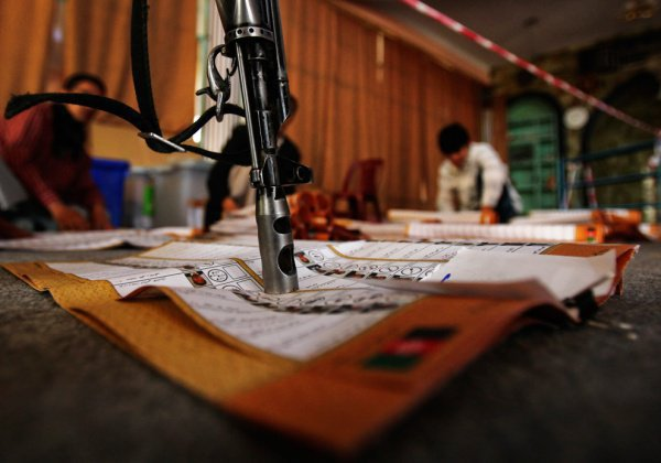 Выборы в Афганистане (AP Photo/Dima Gavrysh)