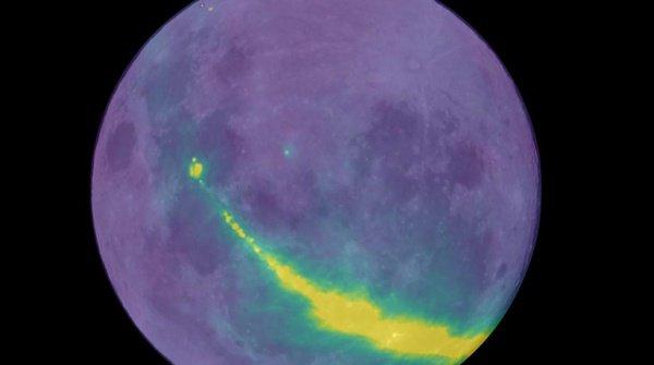 Частично они отражаются от Луны, а частично отлавливаются наземными станциями