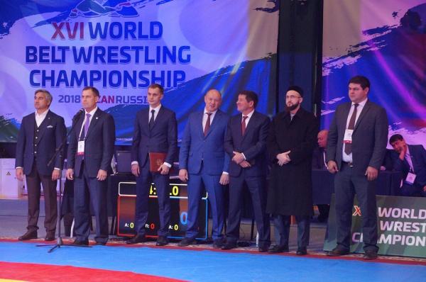 Камиль хазрат на церемонии открытия соревнований.