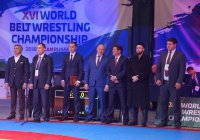 Муфтий РТ принял участие в открытии XVI чемпионата мира по борьбе на поясах