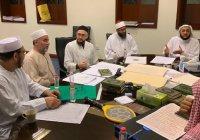 Муфтий принял участие в заседании дубайской комиссии по подготовке Корана