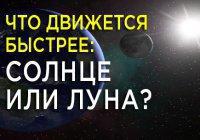Научный ислам: что говорит Коран о движении Солнца и Луны?