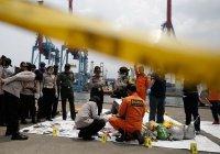 В зоне крушения самолета в Индонезии обнаружили тела 24 человек