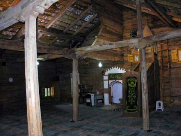 Самая старинная мечеть в мире, построенная без единого гвоздя!