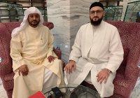 Муфтий РТ встретился с председателем Верховного шариатского суда Бахрейна